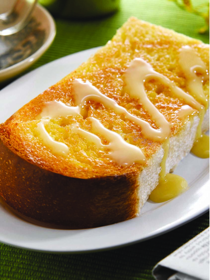 Hainan Toasted Bread with Condensed Milk (1 Slice of Bread)